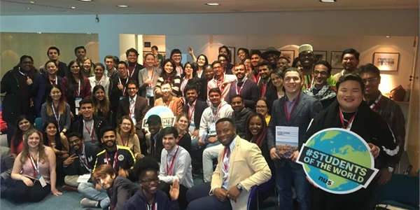 The students we met at International Student Leaders Conference