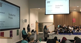 A photograph from Student Members Meeting 2019
